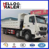 HOWO 25m3のダンプトラック371HPの頑丈なディーゼルトラックのダンプカートラック