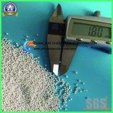 炭酸カルシウムのためのアルミナのビード