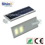 1개의 태양 가로등 8W 10W 20W 25W 30W 40W 50W 통합 태양 가로등에서 디자인 Outdor 새로운 램프 전부