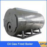 Chaudière à vapeur industrielle efficace élevée de gaz de pétrole de Combi