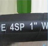 Le fil d'En856 4sp/4sh s'est développé en spirales boyau en caoutchouc hydraulique