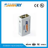 9V Lithium Battery 1200mAh Smoke Detectors 10years