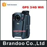 Câmera desgastada da polícia de Ambarella A12 1080 HD corpo cheio com visão noturna