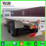 De Chinese TriAs van 40 Ton 40 Voet Flatbed Semi Aanhangwagen van 20 Voet