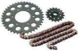 Corrente da motocicleta Cg125 e roda dentada acessória e corrente do forjamento da motocicleta dos jogos da roda dentada pequenas