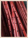 2.0mm 간격에 의하여 그려진 비계 강철 버팀대 망원경 강철은 2.0-3.5m 고도를 버틴다