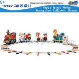 O equipamento ao ar livre do jogo do mini trem das crianças caçoa os brinquedos (M11-06704)