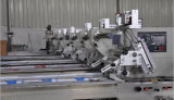 Sami-Automatic Film Bag Wrapping Sealing and Cutting Flow Food Packaging Machine