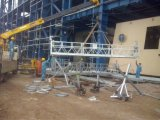 (Berço/gôndola de alumínio) plataforma vertical de levantamento pequena do movimento