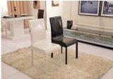 금속 의자, 저녁식사 의자 (D001)를 식사하는 현대 가죽 덮개