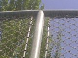 Продукты загородки Linke цепи металла Кита гальванизированные изготовлением