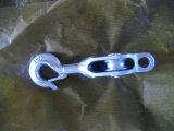 Шкив Sheave блока томительноего-тягуч утюга D. g H. одиночный с крюком