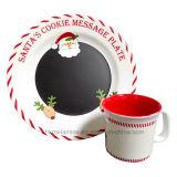 Het Vaatwerk van de Kerstman van de melamine wordt geplaatst met 2PCS (TZ6322 die)