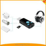 Los kits audios sin hilos del coche del adaptador de la mini del USB Bluetooth música estérea del receptor con las manos liberan llamadas