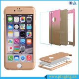 Гибридное Tempered Glass с PC Covers на iPhone 6