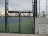 Cerca da ligação Chain do PVC do estádio com baixo preço da alta qualidade