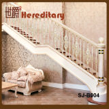 Balustrade européenne d'escalier de balustrade de fonte d'aluminium de type de types divers (SJ-B004)