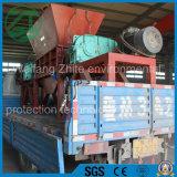 플라스틱 품목 고무 품목 또는 화학 섬유 제품을%s 두 배 샤프트 슈레더