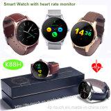 Reloj inteligente a prueba de agua con monitor de ritmo cardíaco (K88H)
