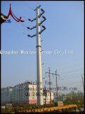 Передающая линия подвес силы и башня стали стержня