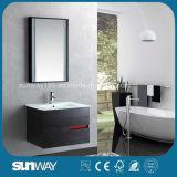 Горячей шкаф ванной комнаты Veener сбывания деревянной установленный стеной (SW-WV1203)