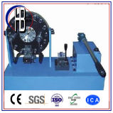 Máquina de friso da mangueira hidráulica manual da alta qualidade da potência do Finn