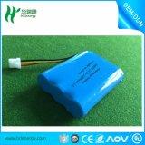 Het Li-ionen Pak 3s 11.1V 18650 van de Batterij het Navulbare Pak van de Batterij van het Lithium 2200mAh Ionen