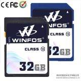 Winfos Patent Design, Hoge snelheid 32GB SDHC Card, Class10