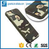 Caja a prueba de choques del teléfono móvil del camuflaje de los accesorios del teléfono para el iPhone 7/7 más