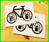2016 crear las etiquetas engomadas cortadas con tintas autas-adhesivo reflexivas del vinilo para requisitos particulares
