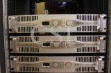 Amplificador de potencia profesional para la demostración sana audio