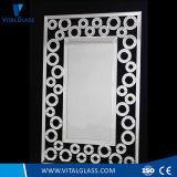 Specchio decorativo di periodo del blocco per grafici poliedrico