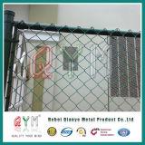 PVC에 의하여 입히는 직류 전기를 통한 체인 연결 담 또는 도매 까만 체인 연결 담