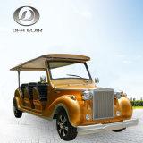 6 Seater elektrische Golf-Laufkatze-klassische Weinlese-Karre