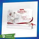 Estante de visualización Point of Sale del papel de la cartulina para la venta del departamento del chocolate