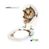 China-Hersteller-/Factory MDF-Drucken-bunter Toiletten-Sitz