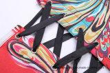 Basisrecheneinheits-Muster-Taillen-Trainings-Taillen-Kursleiter-Korsett der Frauen gedrucktes