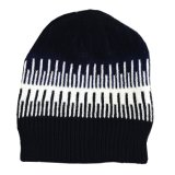 Le Double couche unisexe des femmes de Mens recouvre le chapeau de patinage de Beanies tricoté parhiver chaud de ski (HW412)