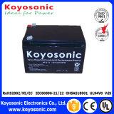 Batterie rechargeable d'UPS de la batterie 12V 7ah AGM de la maintenance libre VRLA