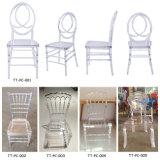 Wedding 투명한 명확한 의자 폴리탄산염 의자는 의자를 아래로 두드린다