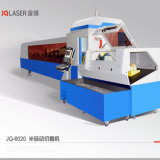 Máquina de estaca do laser da fibra com elevada precisão para a placa de aço e a tubulação inoxidáveis de carbono