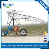 Máquina lateral de la agricultura de la irrigación del movimiento