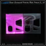 Moulage rotatif Plastique Rechargeable LED Colorée Cube Bar avec BV
