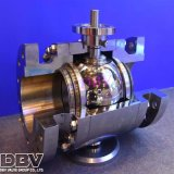 Válvula de esfera flutuante assentada em aço inoxidável industrial de 3PCS Industrial Ss304