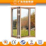 Beste verkaufende gute Feed-back-Qualität garantierte Aluminiumfalz-Tür