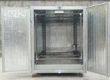 Horno de curado manual de la capa del polvo para la hoja de metal