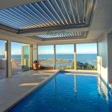 Persiana impermeable motorizada del techo