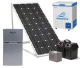 Congelador solar -18degree da bateria do refrigerador DC12V24V48V do refrigerador portátil do congelador da C.C. de Purswave 100L