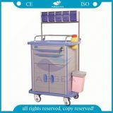 At001A3 최신 판매 의료 기기 비상사태 병원 트롤리 손수레