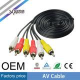 Sipu precio de fábrica 3 RCA a 3 RCA AV Cable de audio y vídeo